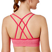 Reebok Women's Novelty Seamless Heather Sports Bra