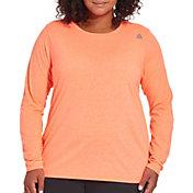 Reebok Women's Plus Size Core Cotton Long Sleeve Shirt