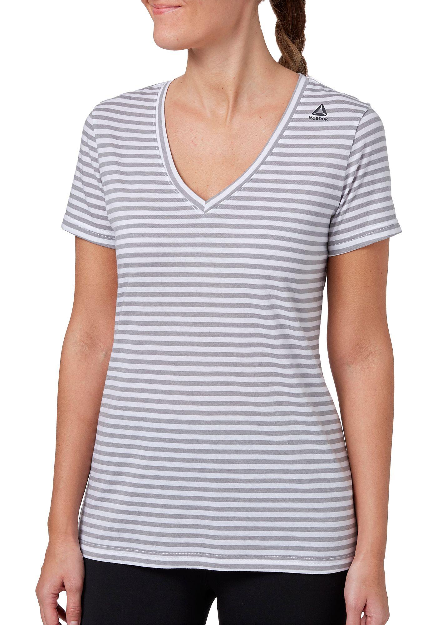 Reebok Women's V-Neck T-Shirt
