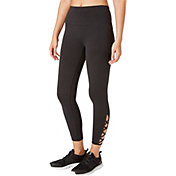 Reebok Women's Stretch Cotton Cross Ankle 7/8 Tights