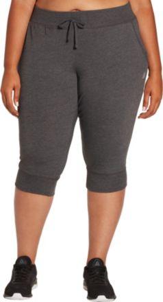 cef875eb7c74d9 Reebok Women's Plus Size Jersey Jogger Capris