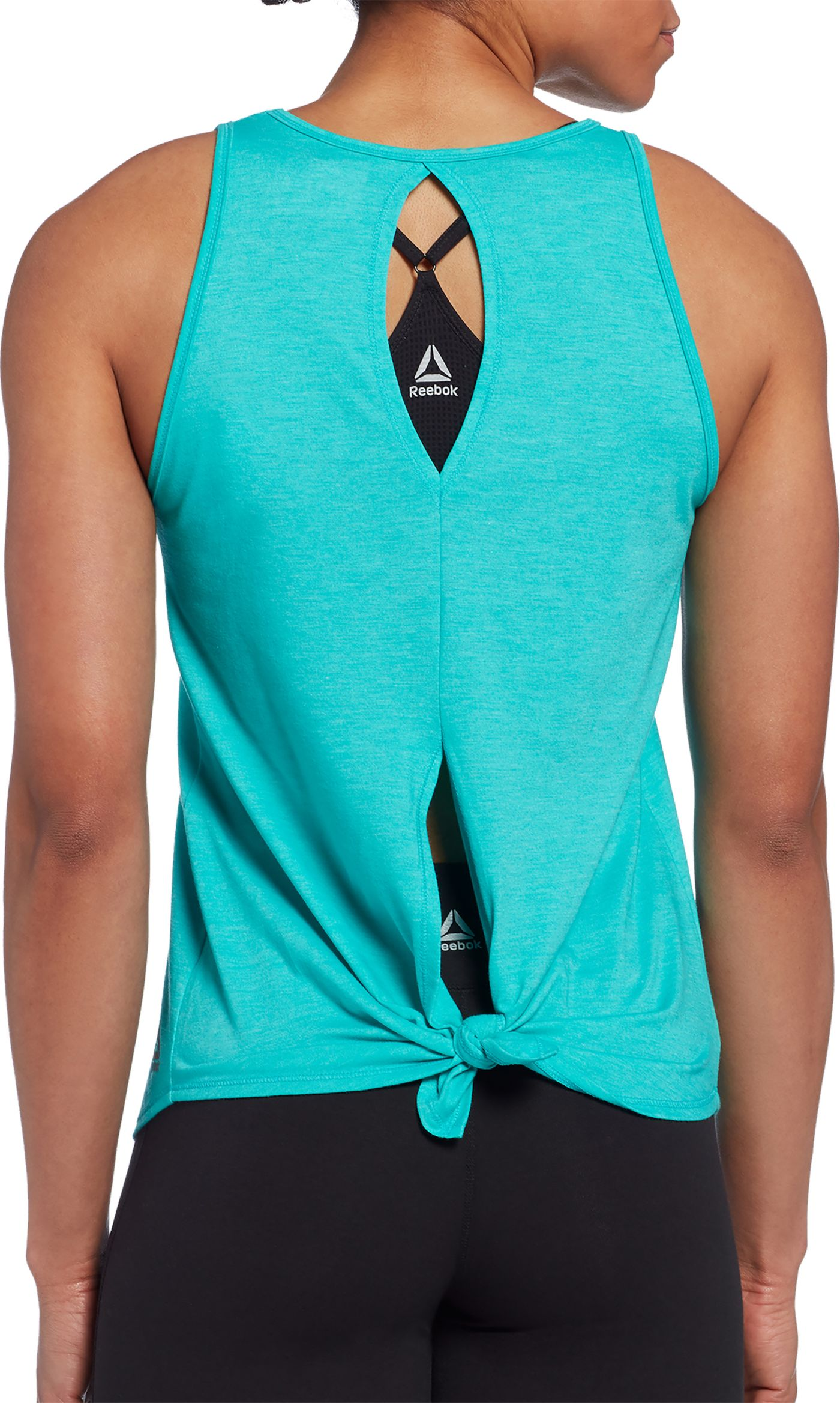 Reebok Women's Cotton Tie Back Tank Top
