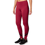 Reebok Women's Cold Weather Compression Wrap Around Spacedye Tights
