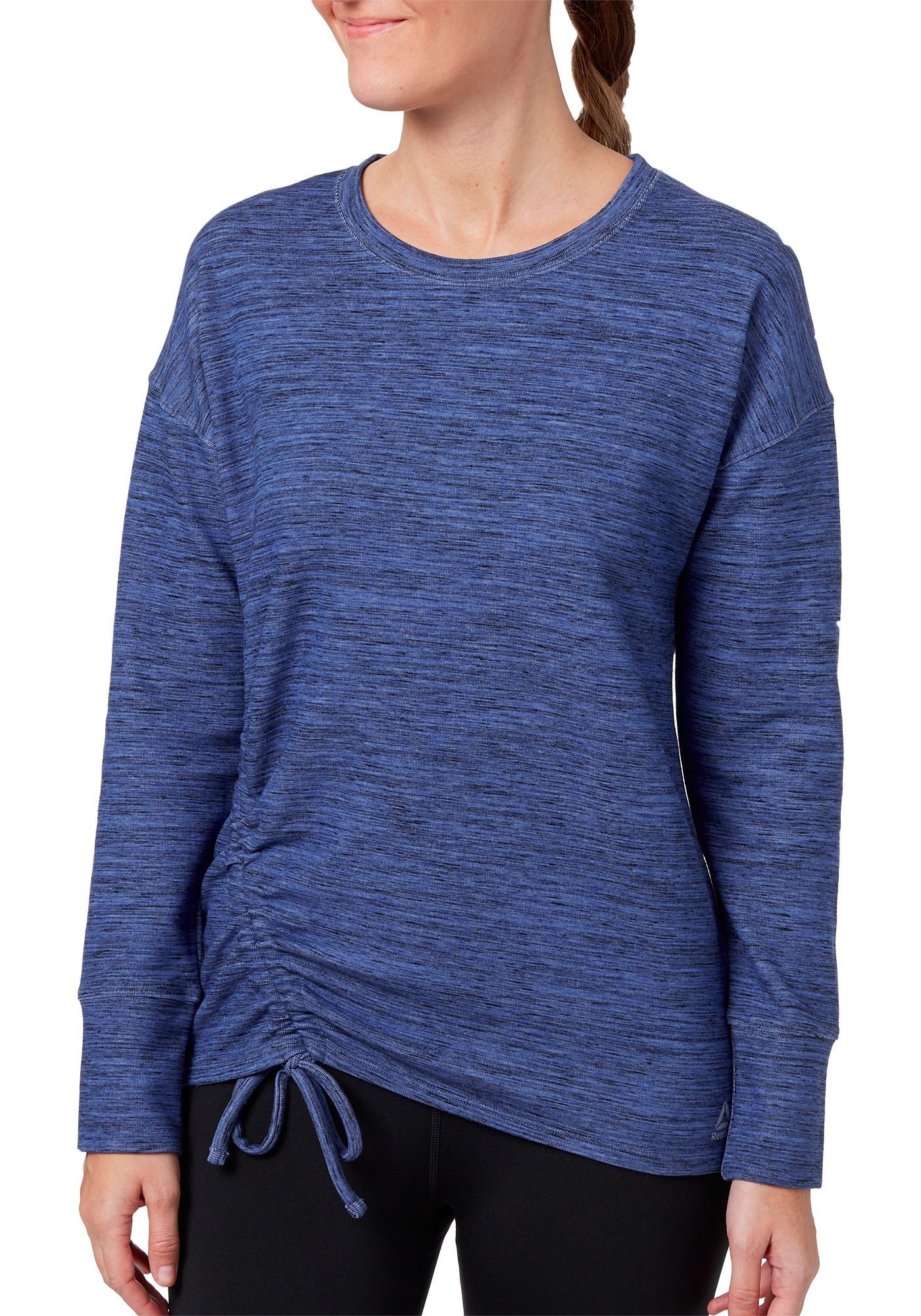 Reebok Women's Fleece Side Cinch Crew Sweatshirt