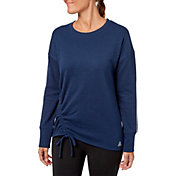 Reebok Women's Fleece Side Cinch Crew Sweatshirt