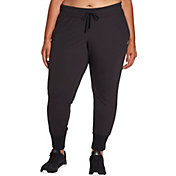 Reebok Women's Plus Size Fleece Jogger Pants