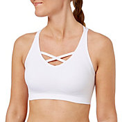 Reebok Women's Seamless Front Interest Sports Bra