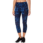 Reebok Women's Highwaist Printed Capris