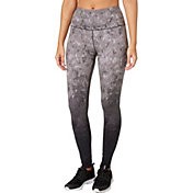 9925da08dc566 Product Image Reebok Women's High Waist Printed Stretch Cotton Leggings