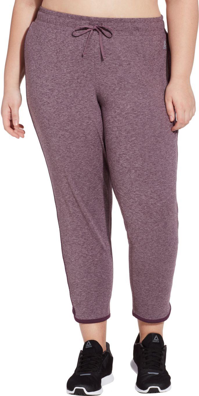 Reebok Women\'s Plus Size 24/7 Tulip Hem Pants