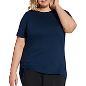 Reebok Women's Plus Size Cinch Side T-Shirt