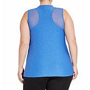 Reebok Women's Plus Size Performance Mesh Muscle Tank Top