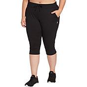 Reebok Women's Plus Size Jersey Jogger Capris