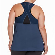 Reebok Women's Plus Size Keyhole Performance Tank Top