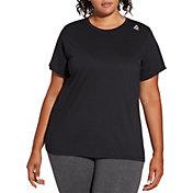 Reebok Women's Plus Size Crewneck Jersey T-Shirt
