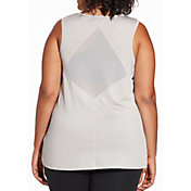 Reebok Women's Plus Size Performance Mesh Muscle Tank Top