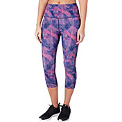 c60065f1934419 Product Image · Reebok Women's Printed Performance Pocket Capris