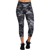 Reebok Women's Printed Performance Pocket Capris