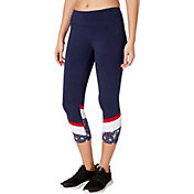 Reebok Women's Cotton Novelty Capris