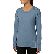 Reebok Women's Side Slit Fleece Sweatshirt