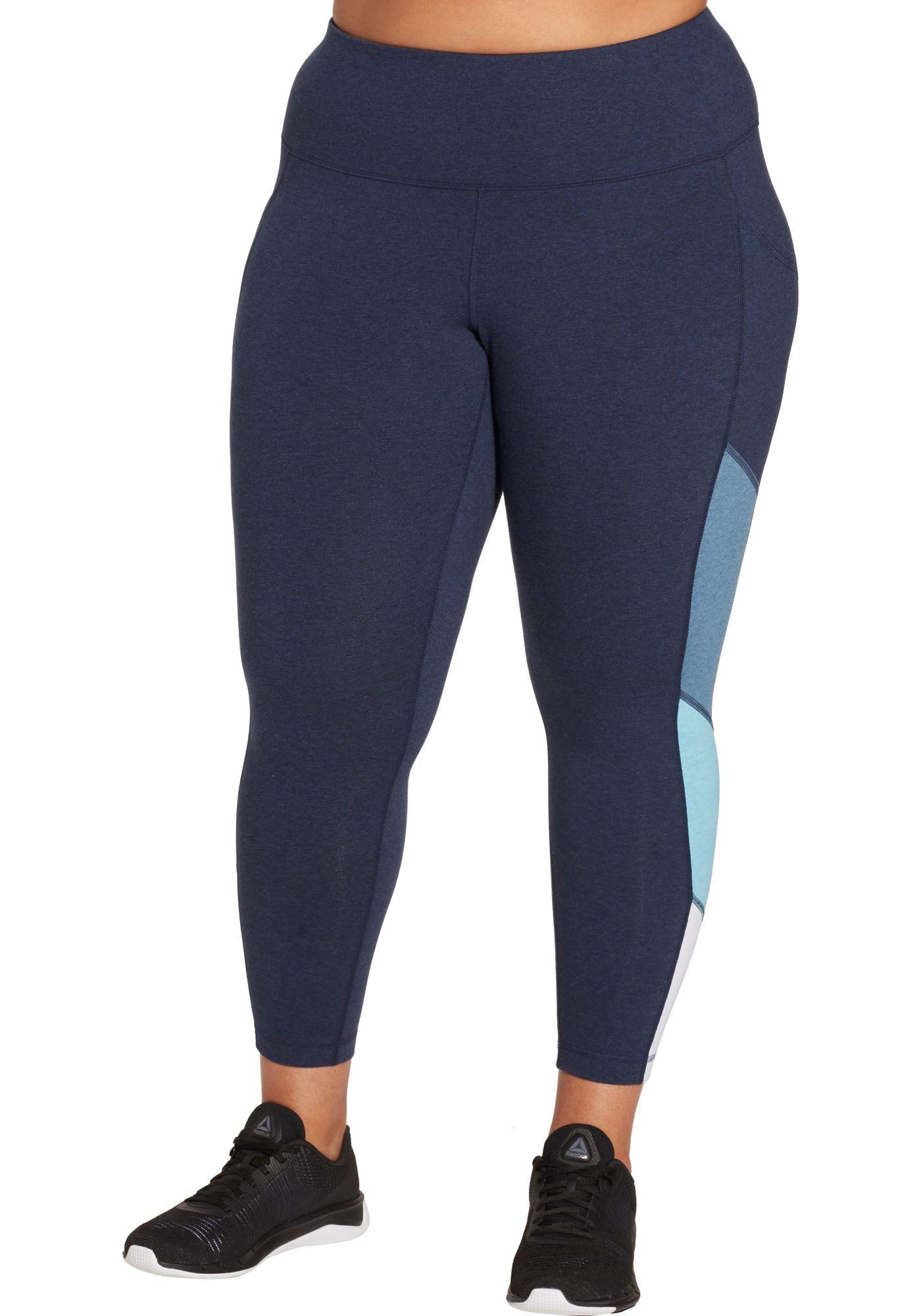 Reebok Women's Plus Size Highwaist 7/8 Gradient Flow Pants
