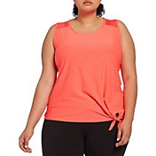 Reebok Women's Plus Size Tie Tank Top