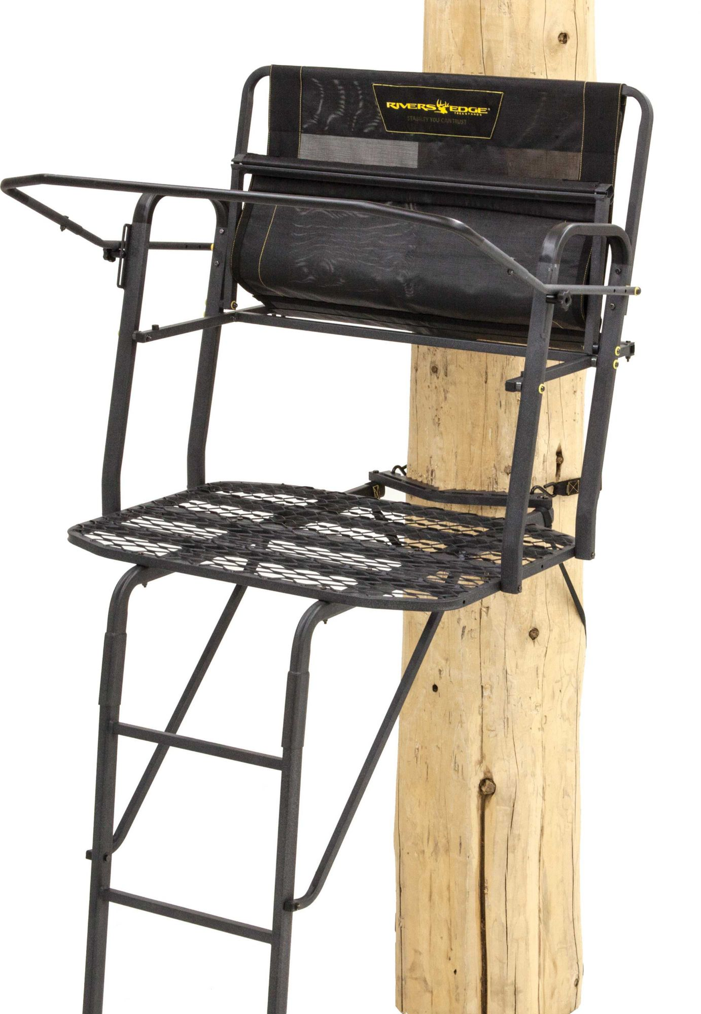 Rivers Edge Lockdown 2-Man 15' Ladder Stand, Men's thumbnail