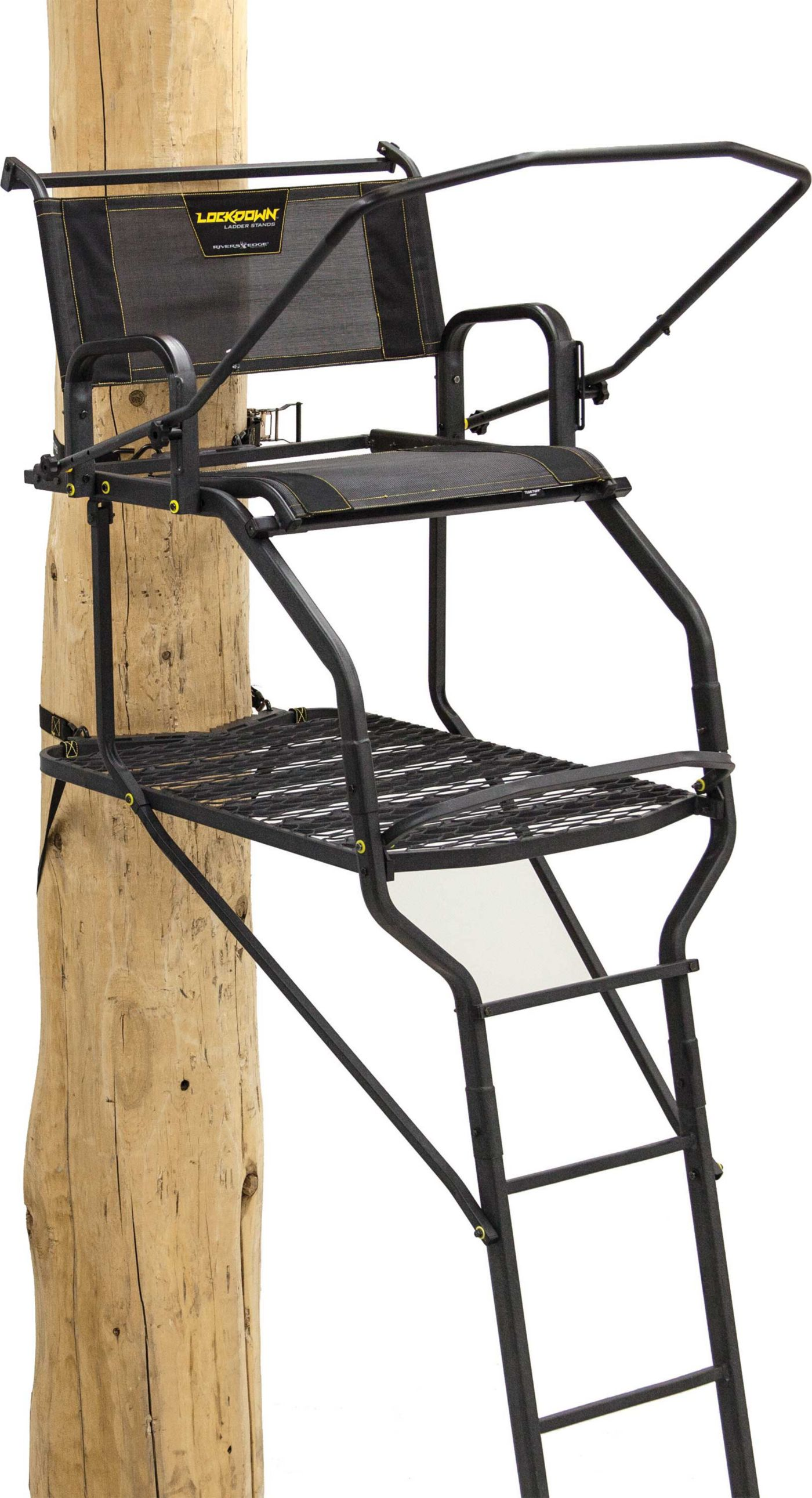 Rivers Edge Lockdown 1-Man 15' Ladder Stand