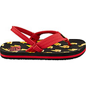 Reef Kids' Little Ahi Pizza Bolt Flip Flops