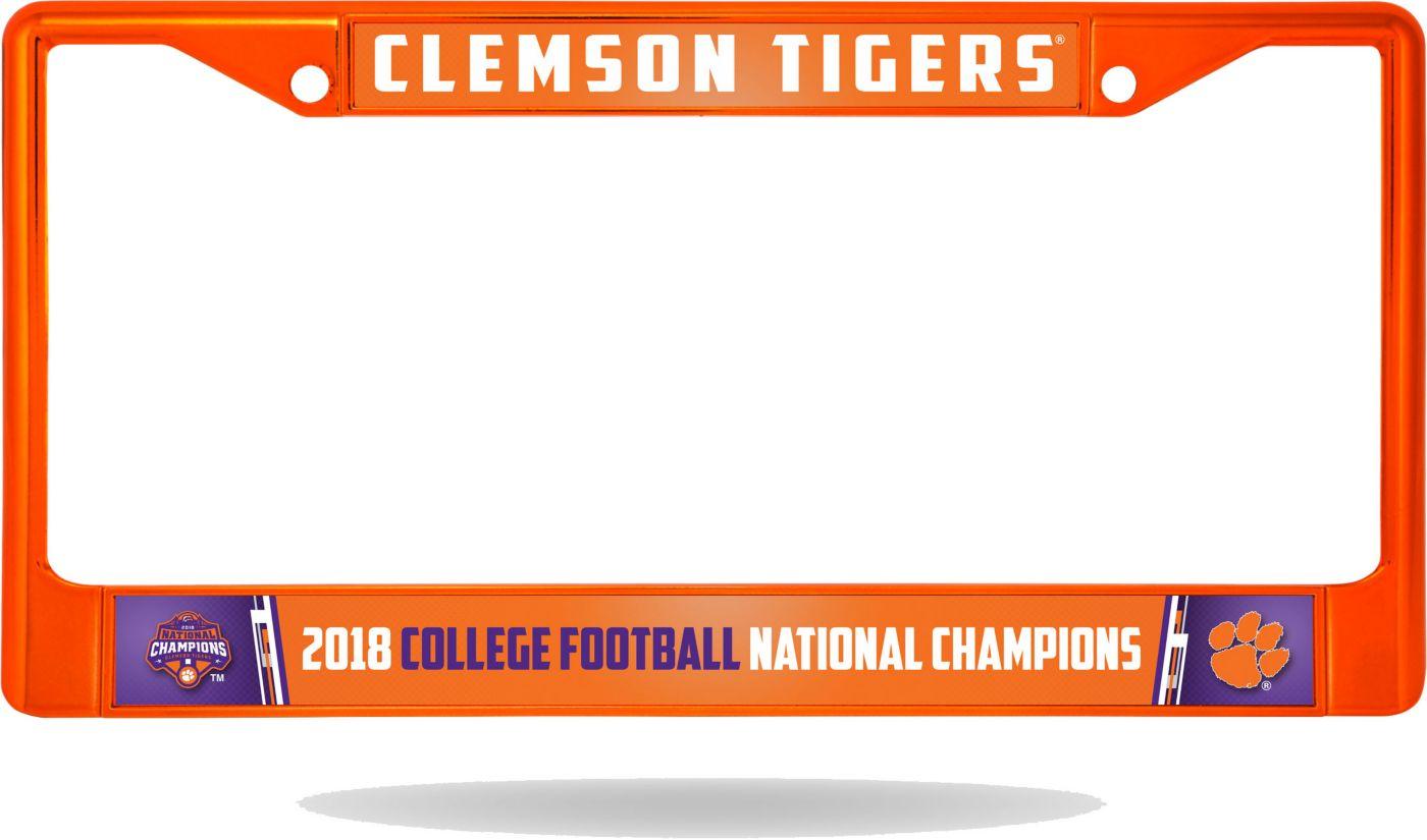 Rico 2018 National Champions Clemson Tigers Color Chrome