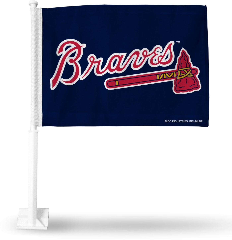 Rico Atlanta Braves Car Flag