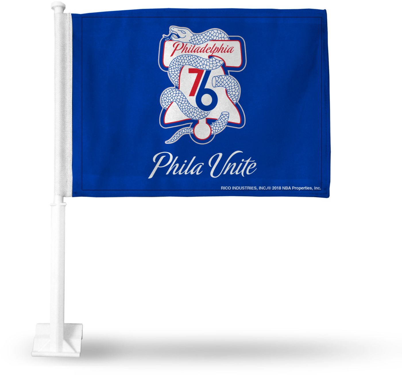 Rico Philadelphia 76ers Philia Unite Car Flag