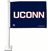 Rico UConn Huskies Car Flag