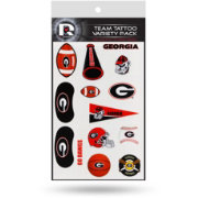 Rico Georgia Bulldogs Tattoo Variety Pack