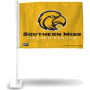 Rico Southern Miss Golden Eagles Car Flag