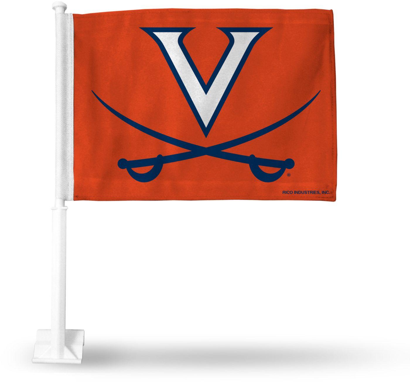 Rico Virginia Cavaliers Car Flag