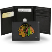 Rico Chicago Blackhawks Embroidered Trifold Wallet