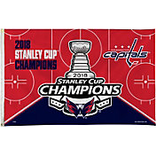 Rico 2018 Stanley Cup Champions Washington Capitals Car Flag