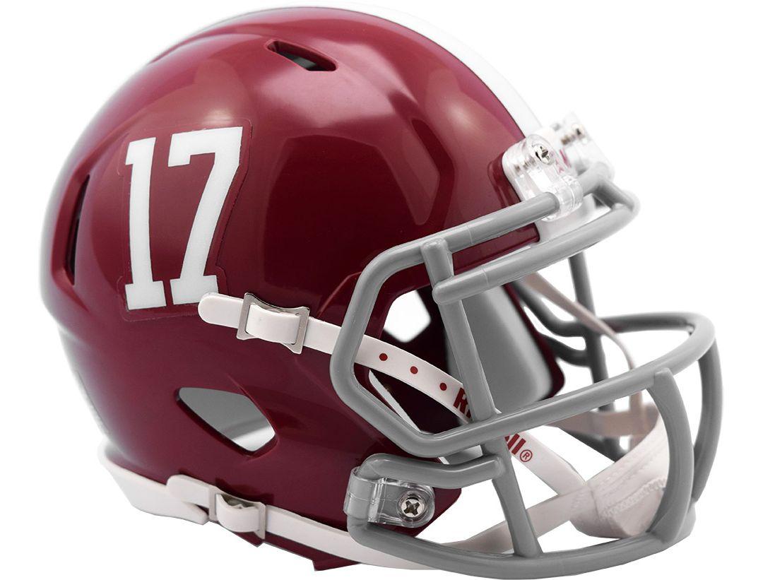 the latest 5c888 71ceb Riddell Alabama Crimson Tide Speed Mini Football Helmet