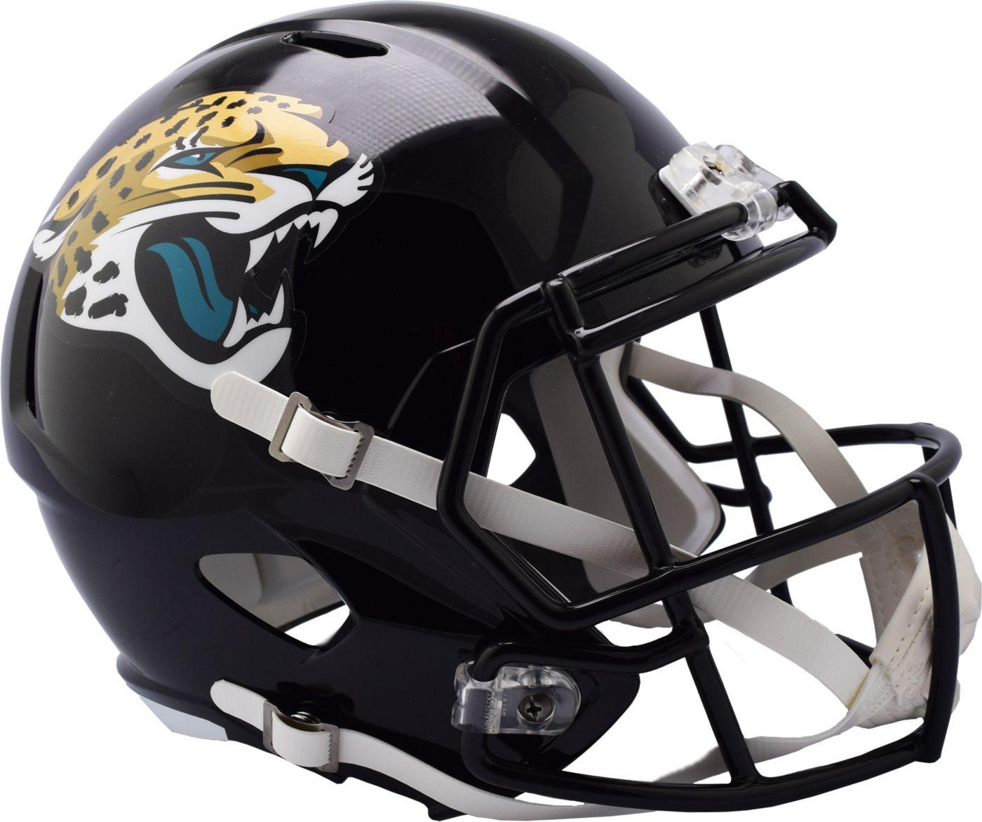 Riddell Jacksonville Jaguars Speed Replica Football Helmet