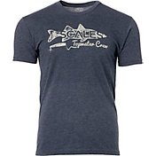 Scales Gear Men's Topwater Snook Vintage Tri-Blend Short Sleeve T-Shirt