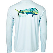 Scales Gear Men's Tropical Mahi Performance Long Sleeve Shirt