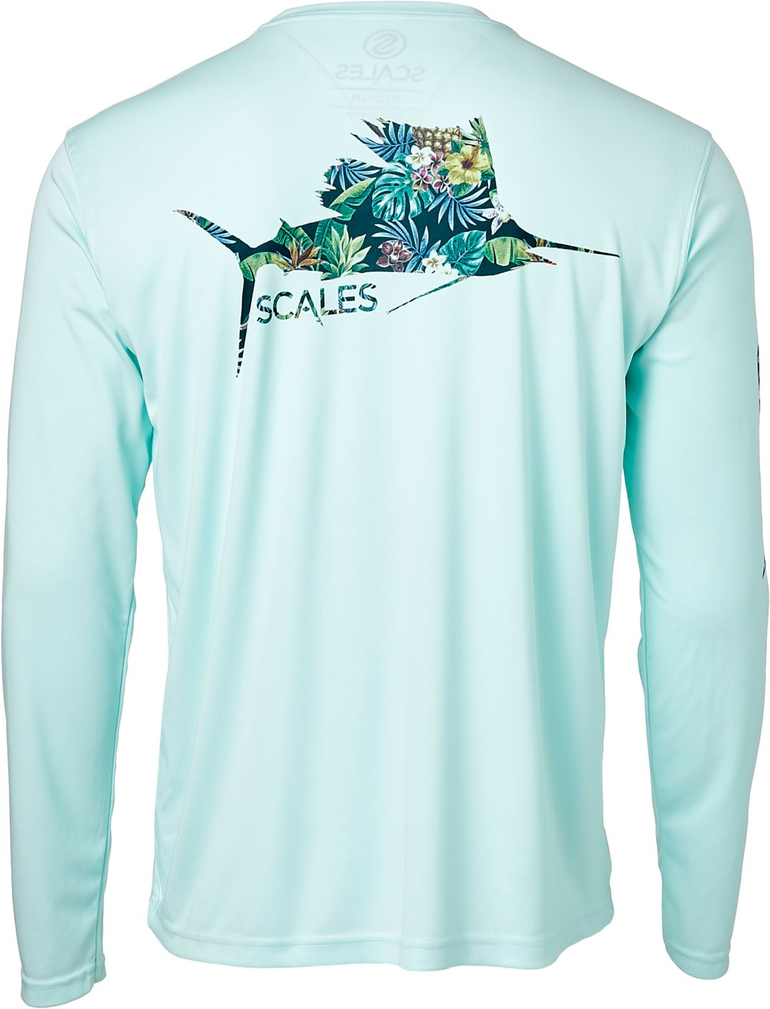 a905b09e Scales Gear Men's Tropical Sail Performance Long Sleeve Shirt