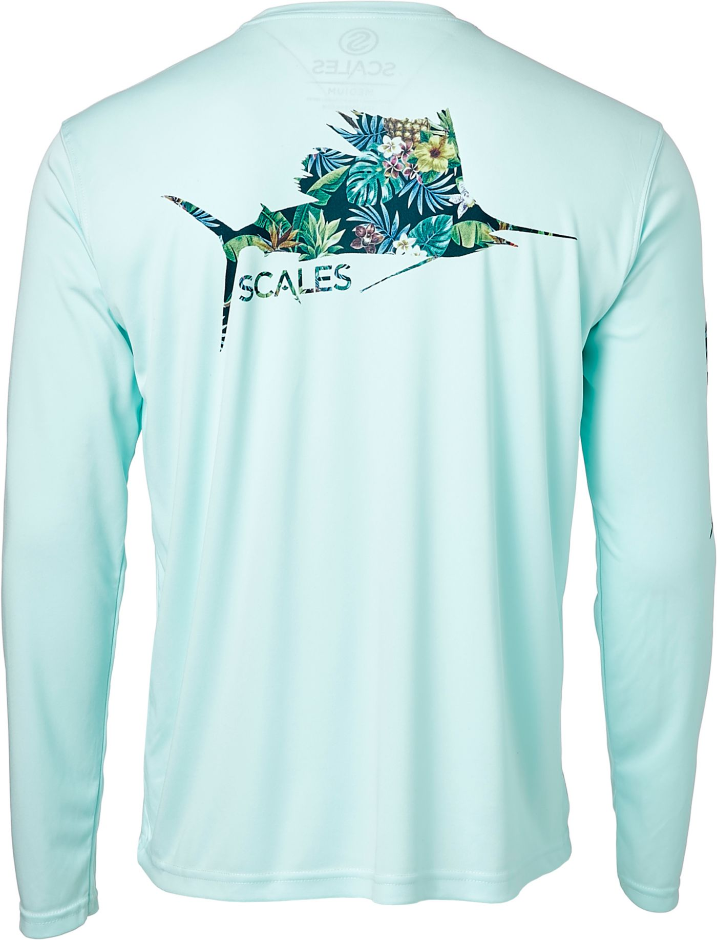 Scales Gear Men's Tropical Sail Performance Long Sleeve Shirt