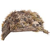 QuietWear Men's Camo Grassy Cap with Visor