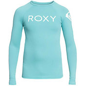 Roxy Girls' Funny Waves Long Sleeve Rash Guard