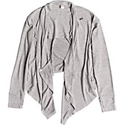 Roxy Women's Feel It All Around Wrap Long Sleeve Cardigan