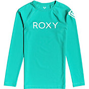 Roxy Girls' Funny Waves Long Sleeve Rash Guard