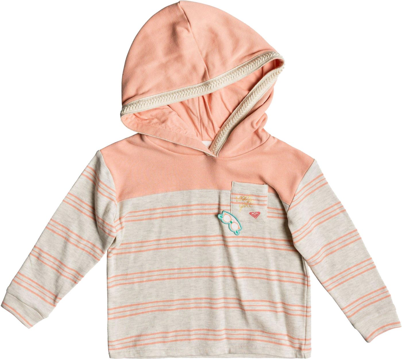 Roxy Girls' First Friend Hoodie