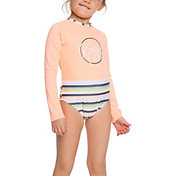Roxy Girls' Lets Go Surfing Long Sleeve One Piece Swimsuit